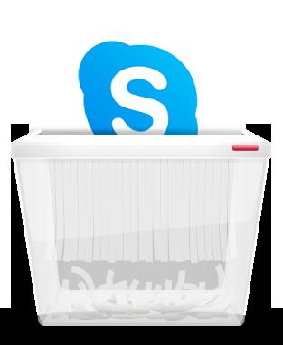 Skype konto loeschen